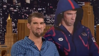 Michael Phelps Explains The Moment Behind The 'Phelps Face' On 'The Tonight Show'