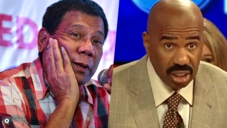 The President Of The Philippines Doesn't Want Steve Harvey Anywhere Near The Miss Universe Pageant