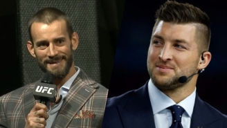 CM Punk Says His UFC Debut Is 'Kind Of Similar' To Tim Tebow Joining MLB