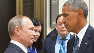 President Obama's Tense Encounter With Putin Is Getting The Photoshop Treatment