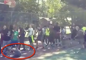 The D-League Rookie Of The Year Unleashed A Brutal Crossover On This Poor Little Kid
