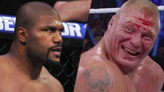 Quinton 'Rampage' Jackson Claims He'd 'Whup Brock Lesnar's Ass'