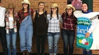 This High School Student's Misinterpreted 'Ranch Day' Costume Earned Her Some Hidden Valley Swag