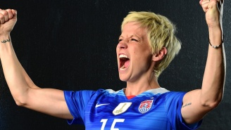 The Washington Spirit Moved Up The National Anthem To Avoid 'Subjecting Fans' To Megan Rapinoe's Protest