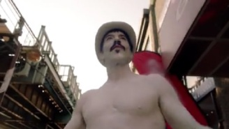 Anthony Kiedis Is A Silver-Painted Street Performer In Red Hot Chili Peppers' 'Go Robot'