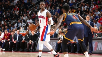 Reggie Jackson Just Can't Seem To Stop Himself From Talking Up The Pistons