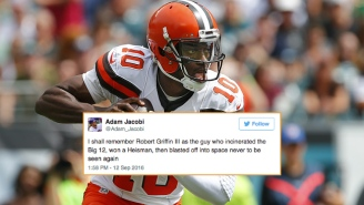 The Internet Mourned The Latest Setback In Robert Griffin III's Increasingly Snakebitten Career