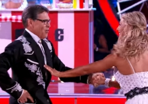 Everyone Ridiculed This Suggestive Photo Rick Perry Posted From His 'Dancing With The Stars' Practice