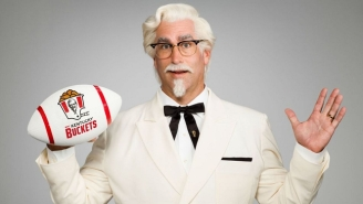 Rob Riggle Is The New Football-Crazed Colonel Sanders For KFC