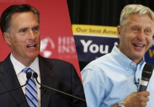Mitt Romney Wants To See Gary Johnson And Bill Weld On The Debate Stage