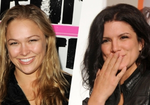 Ronda Rousey Credits Gina Carano With Inspiring Her To Fight