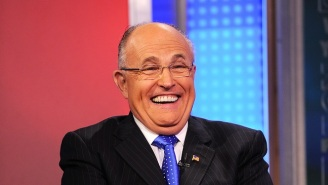 Rudy Giuliani Cracked A 'Locker Room Talk' Joke At A Pre-Inauguration Luncheon
