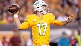 The Internet Tore Apart The Miami Dolphins' Hideous All-Orange Color Rush Unis