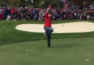 This American Hero Won A $100 Bet From Team Europe After Heckling The Hell Out Of Them