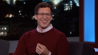 Andy Samberg Relives The Terror Of Being Surrounded By Reef Sharks For 'Shark Week' Footage