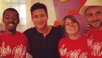 Chicago's 'Saved By The Bell' Themed Diner Got A Special Visit From Mario Lopez