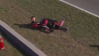 A NASCAR Truck Series Race Featured An Insane Finish Which Led To A Brawl
