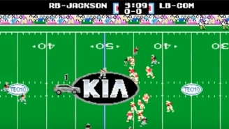 Relive Video Game Glory With This Bo Jackson Tecmo Bowl Kia Ad