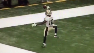 Brandin Cooks Burned Oakland's Defense En Route To An Unreal 98-Yard Touchdown