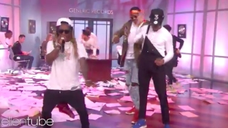 Chance The Rapper Brought Out 2 Chainz And Lil Wayne To Rock 'No Problem' On 'Ellen'