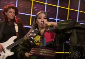Watch Korean Pop Star CL Bring The Undeniable Swag Of 'Lifted' To James Corden