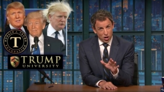 Seth Meyers Going All In On Donald Trump's Birther Lies Is A Must Watch: 'F*ck You!'