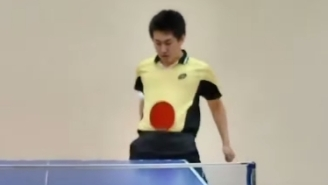 These One-Of-A-Kind Ping Pong Trick Shots Prove You Can Use Your Groin As A Paddle