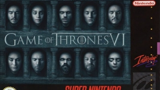 Tickle Your Nostalgia With A Look At 'Game Of Thrones' And More As SNES Tie-In Games