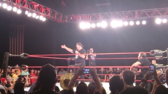 Terry Funk Gave An Emotional Farewell Speech To Fans At The ECW Arena