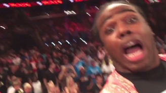 Xavier Woods Recorded An In-Ring Video Of A WWE Raw Brawl While Yelling 'WorldStar!'