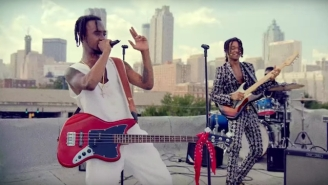Watch Rae Sremmurd And Gucci Mane Live The Rockstar Life In The 'Black Beatles' Video