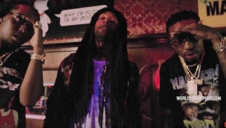 Ty Dolla $ign And Migos Keep It 'Lit AF' In The '???(Where)' Video