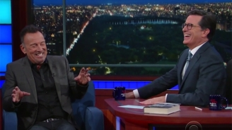 Bruce Springsteen Can't Help Talking About Bruce Springsteen During His Revealing Chat On 'The Late Show'