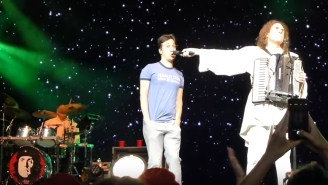 Lin-Manuel Miranda Was Weird Al's Surprise Duet Partner For 'Yoda' At His Radio City Concert