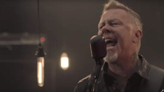 Metallica Stay Heavy In The Video For Their New Song 'Moth Into Flame'