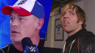 John Cena Went In On Dean Ambrose For Referring To Him As A 'Part-Timer'