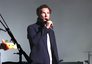 Benedict Cumberbatch Performing 'Comfortably Numb' Will Make You Anything But