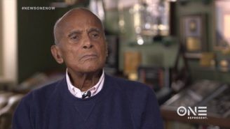 Legendary Activist Harry Belafonte Calls On 'Hundreds' More Athletes To Rally Around Colin Kaepernick