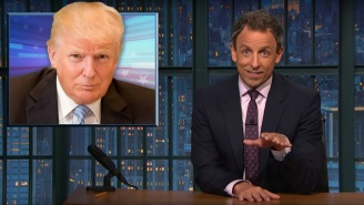 Seth Meyers Suddenly Realizes Why The Donald Trump Foundation Is Abbreviated 'DTF'