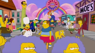 'The Simpsons' Kicks Off Season 28 With An Amazing 'Adventure Time' Couch Gag