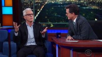 John Slattery Unloads The Grudge He's Held Against Stephen Colbert For 25 Years