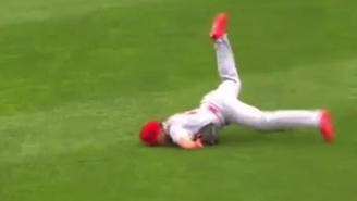 The Cardinals' Kolten Wong Continued His Crappy Year With A Faceplant For The Ages
