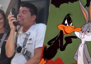 Watch This Southwest Flight Attendant Bust Out 'Looney Tunes' Impressions Galore