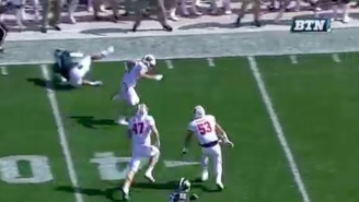 Wisconsin's Leo Musso Delivered A Wicked Spin Move And Scored After Recovering A Michigan State Fumble