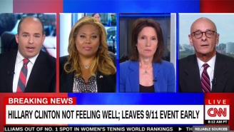 A CNN Panel Scolds Fox News For Reporting An Overheated Hillary Clinton As A 'Medical Episode'