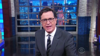 Stephen Colbert Zeroes In On The Stunning Hypocrisy Surrounding Criticism Of The Charlotte Protests
