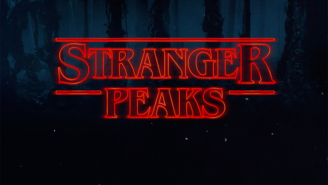 Here's a pretty great mashup of the 'Stranger Things' and 'Twin Peaks' themes