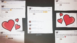 This College Freshman Celebrated 'No More Drama' By Hanging Her Roommate's Subtweets All Over Their Dorm