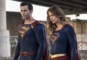 'Supergirl': Watch the first clip of Tyler Hoechlin's Superman in action