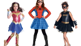 Superheroes just took princesses' Halloween costume crown